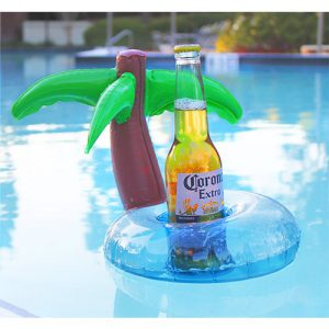 Inflatable cup holder:Palm tree