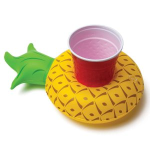 Inflatable cup holder: Ananas
