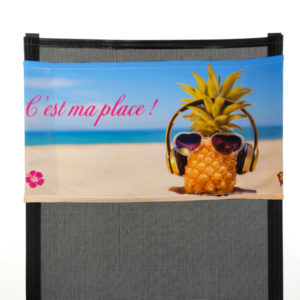 Bandeau Soleil: Ananas fille